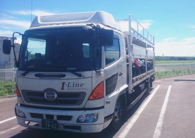 トラックで輸送するメリットとは